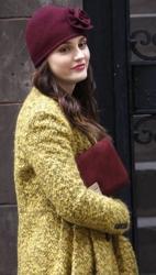 Leighton Meester in D&Y Cloche Hat