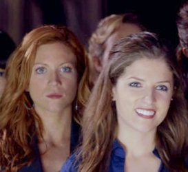 Brittany Snow With Long Cinnamon Wavy Red Hair & Anna Kendrick
