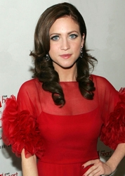 Brittany Snow With Long Chocolate Brown Hair