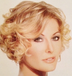 Baby Buttery Blonde Curly Crop - Hair by Mouton Salon