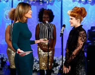 Paloma Faith On The Today Show On NBC - December 3, 2012