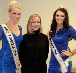 Sherri Jessee With Miss Virginia USA & Miss Virginia Teen USA