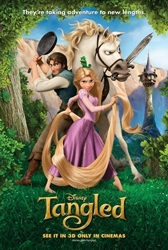 Disney - Tangled -  Movie Poster