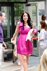 Bethenny Frankel With Her Trademark Long Brunette Hair
