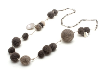 Cat Hair Ball Jewelry From Heidi Abrahamson