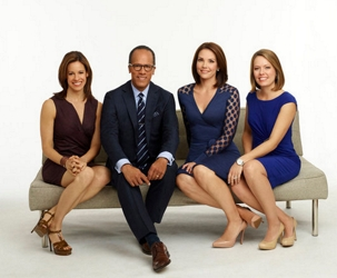 Dylan Dreyer On Far Right With NBC Today Weekend Anchor Team