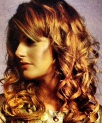 Hair Styled In Loose Ringlets