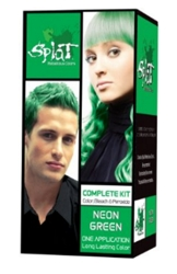 Special Effects Splat Kit For Semi-Perm Neon Green Haircolor