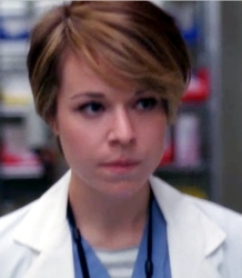 Tina Majorino As Heather Brooks With New Asymetrical Haircut
