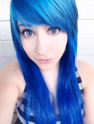 Turquoise Blue Hair - Image From Jerome Russell - Punky Hair Color