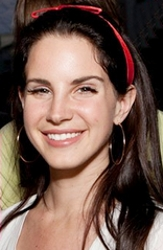 Lana Del Rey With Red Headband