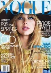 Taylor Swift On Cover of Vogue - February 2012