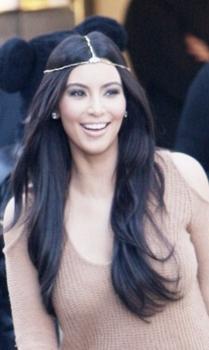 Kim Kardashian Hair Chains