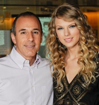Taylor Swift With Matt Lauer - 2009 - NBC - All Rights Reserved
