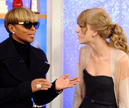 Taylor Swift With Mary J. Blige On NBC Today Show - NBC - All Rights Reserved