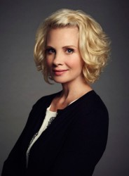 Monica Potter's Textured Parenthood Bob Haircut