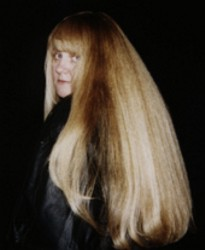 Karen Marie Shelton - Long Straight Hair - 1995 - Photo by Jeffrey Hines - HairBoutique.com -