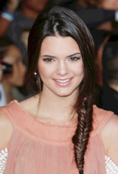 Blog about Kendall Jenner's Herringbone Braid