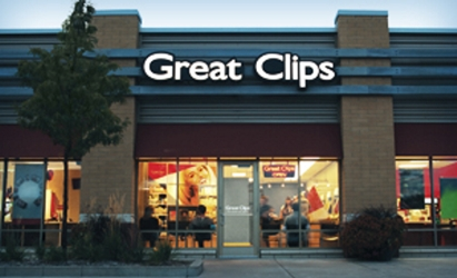 Outside of Great Clips Salon