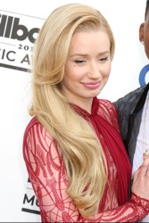 Iggy Azalea - Long Sideswept Loose Hair - PR Photo - All Rights Reserved