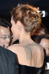 Angelina Jolia With Hot Hair Knot - PR Photos