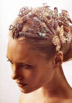 Hair Decorated In Festive Holiday Fashion With Array Of Hair Accessories - HB.com - All Rights Reserved