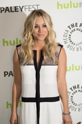 Long Layered Naturally Textured Haircut - Kaley Cuoco - All Rights Reserved