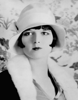 Louise Brooks With Iconic Bob Hairstyle - Wikipedia.com - All Rights Reserved