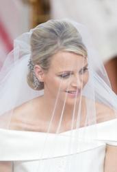 Princess Charlene of Monaco at Royal Wedding to Prince Albert - PR Photos - All Rights Reserved