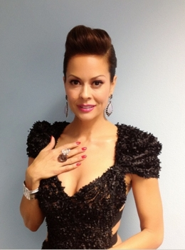Brooke Burke's Braided Chignon Create By Jonathan Hanousek For 'Dancing With The Stars' Finale - ABC - All Rights Reserved