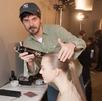 Redken Creative Consultant Guido At Work Creating His Amazing Hair Creations - Redken - All Rights Reserved