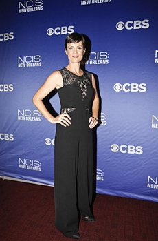 NCIS: NEW ORLEANS  Pictured: Zoe McLellan - Sept 17, 2014 - Photo: Skip Bolen/CBS ©2014 CBS Broadcasting, Inc. All Rights Reserved