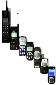 Cell Phone - An evolution of mobile phones - Wikipedia.com - All Rights Reserved