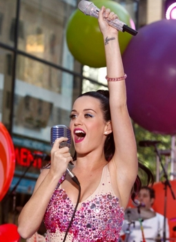 Blog about Katy Perry Superbowl Hair