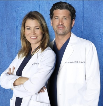 Famous TV Lovers - Grey's Anatomy - Meredith and Patrick