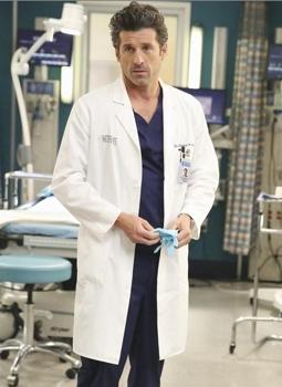 "Patrick Dempsey  ""Grey's Anatomy,"" on the ABC Television Network. (ABC/Adam Taylor)"