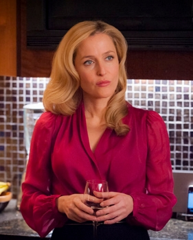 Gillian Anderson as Dr. Bedelia Du Maurier on Hannibal - NBC - All Rights Reserved