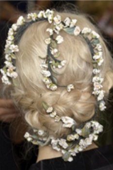 Braids And Flowers - Hair by Guido for Redken