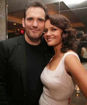Matt Dillon & Carla Gugino - Fox/TV -WAYWARD PINES - TASTEMAKER EVENT MON APRIL 27 WAYWARD PINES - Series Premiere - Cr: James Minchin/FOX