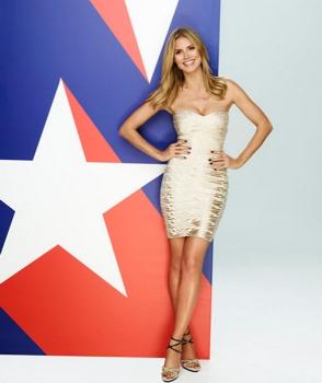 June 10, 2013<br /> America's Got Talent - Season:8 - Pictured: Heidi Klum - (Photo by: Andrew Eccles/NBC)<br /> Tuesdays on NBC (9-11 p.m. ET)<br />