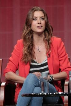 "NBC Universal Press Tour, July 2014 -- ""Bad Judge"" Session -- Kate Walsh -- (Photo by: Chris Haston/NBC) 2014 NBCUniversal Media, LLC."