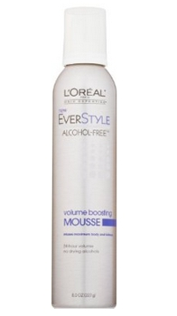 L'Oreal Paris EverStyle Volume Boosting Mousse, Alcohol-Free, 8.0 Fluid Ounce - Amazon.com - All Rights Reserved