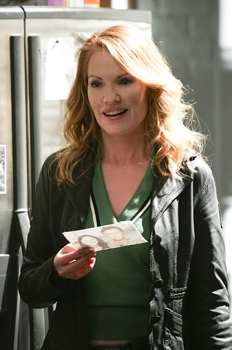 Catherine (Marg Helgenberger) on CSI: CRIME SCENE INVESTIGATION,  on the CBS Television Network. Photo: Robert Voets/CBS ©2008 CBS Broadcasting Inc. All Rights Reserved.
