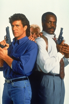 Fox Lethal Weapon 3: L.A. detectives Martin Riggs (Mel Gibson, L) & Roger Murtaugh (Danny Glover, R) - Fox/TV - ©1999 FOX Broadcasting Company - All Rights Reserved