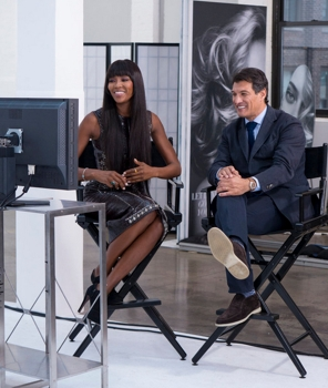 The Face - Finale - Pictured: Executive Producer & Supermodel Coach Naomi Campbell & Frederic Fekkai - (Photo by: Steve Fenn/Oxygen) Tuesday, May 7 on Oxygen (8-9 p.m. ET) -  2013 NBC Universal Media, LLC