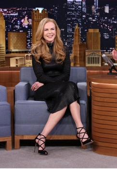 The Tonight Show Starring Jimmy Fallon - Episode 0188 -- Pictured: Actress Nicole Kidman January 6, 2015 - (Photo by: Douglas Gorenstein/NBC) NBCUniversal Media, LLC