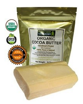 Raw Cocoa Butter - CERTIFIED ORGANIC, Pure, & Natural - Amazon.com - All Rights Reserved