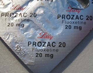 Fluoxetine (Prozac), an SSRI - All Rights Reserved