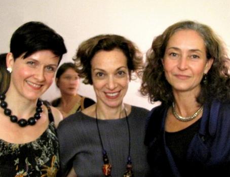 (L-R) Ragna Frodadottir of Edelkoort, Diana Tedesco of beautypress, & Emmanuelle Linard of Edelkoort - Courtesty of BeautyPress - All Rights Reserved