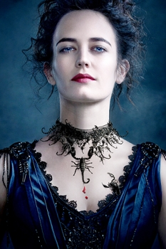 Eva Green as Vanessa Ives in Penny Dreadful with perimeter frizz - Photo:Courtesy of SHOWTIME